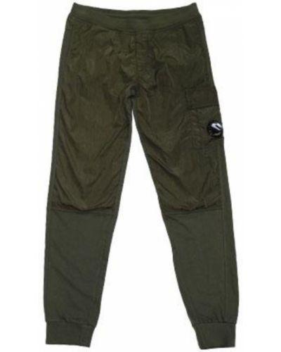 Zielone spodnie bawełniane C.p. Company