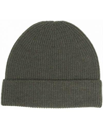 Zielona czapka Lemaire