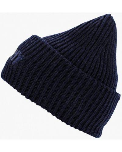 Синяя шапка осенняя Tommy Hilfiger