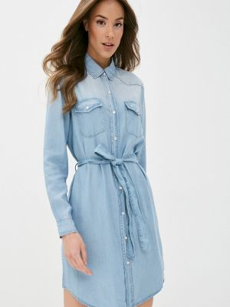 Джинсовое платье - голубое Ovs