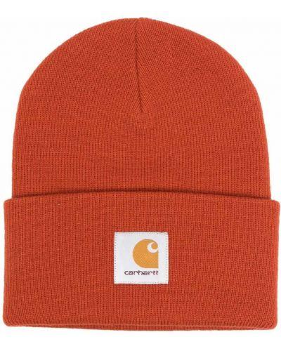 Czapka beanie - pomarańczowa Carhartt Wip
