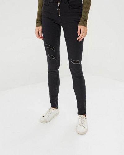 Черные джинсы-скинни Brave Soul