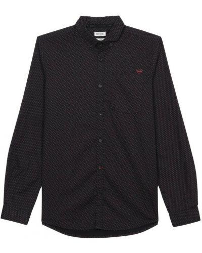 Czarna koszula nocna Kaporal