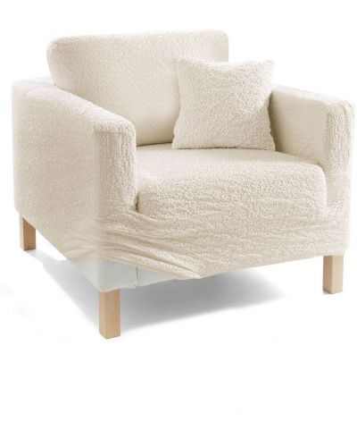 Бежевый чехол для диванов Bonprix