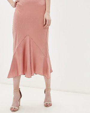 Розовое облегающее платье Topshop