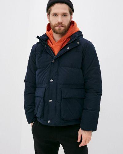 Утепленная синяя куртка Gap