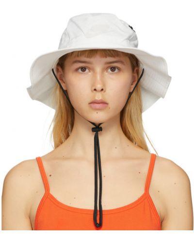 Czarny bawełna bawełna kapelusz z kieszeniami Nike