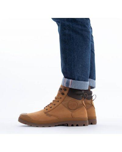Водонепроницаемые коричневые ботинки Palladium