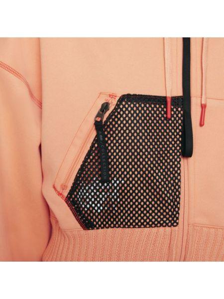 Bluza dzianinowa - pomarańczowa Nike