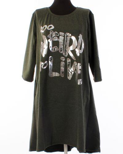 Повседневное платье из футера Грандсток
