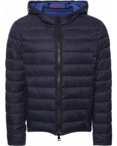 Текстильная синяя куртка Baldinini