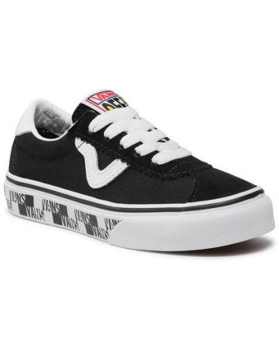 Czarne tenisówki Vans