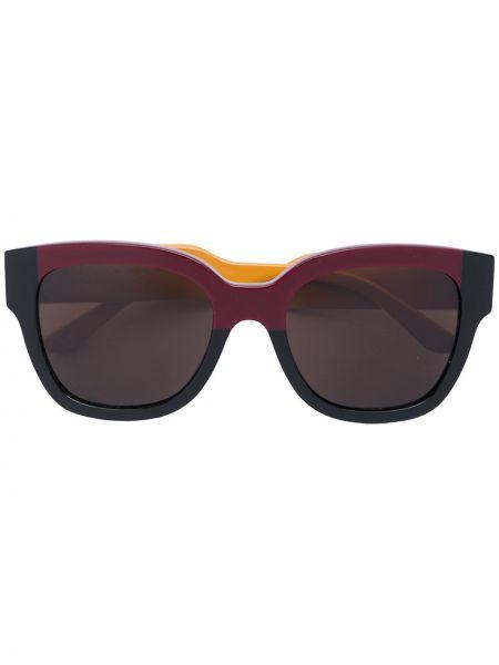 Муслиновые солнцезащитные очки хаки Marni Eyewear