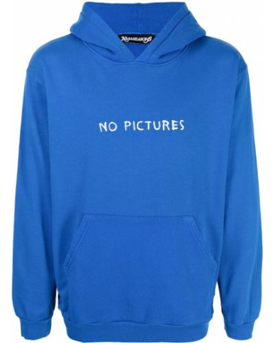 Niebieska bluza z kapturem Nasaseasons