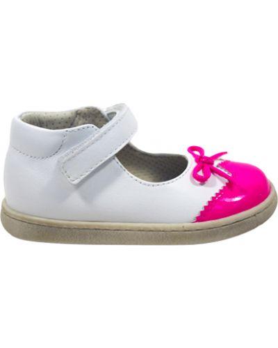 Туфли лаковые белые Zecchino D'oro