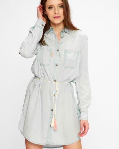 Платье мини на пуговицах с манжетами Femi Stories