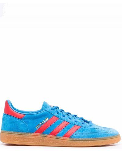 Синие кроссовки на шнуровке Adidas