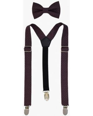 Коричневый галстук Rainbowtie