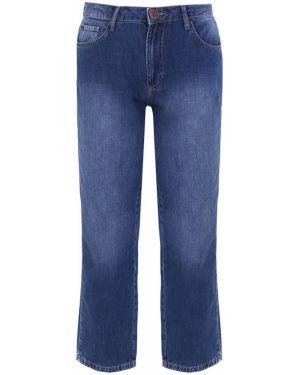 Прямые джинсы укороченные синие One X One