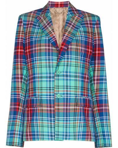 Niebieski garnitur bawełniany Charles Jeffrey Loverboy