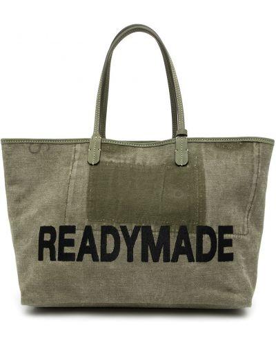 Czarna torebka z printem Readymade