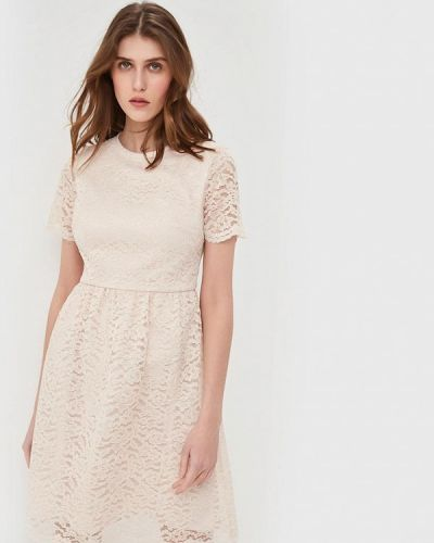 Вечернее платье - бежевое Lusio