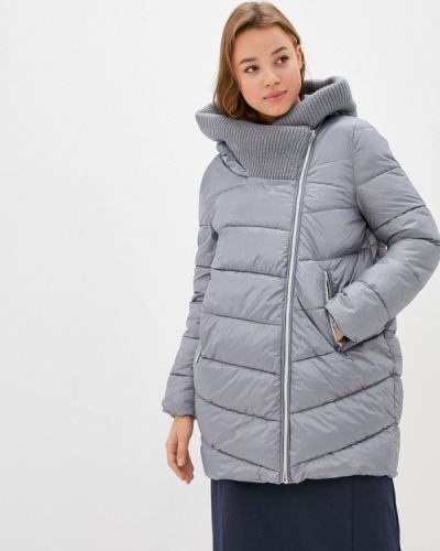 Утепленная серая куртка Zolla