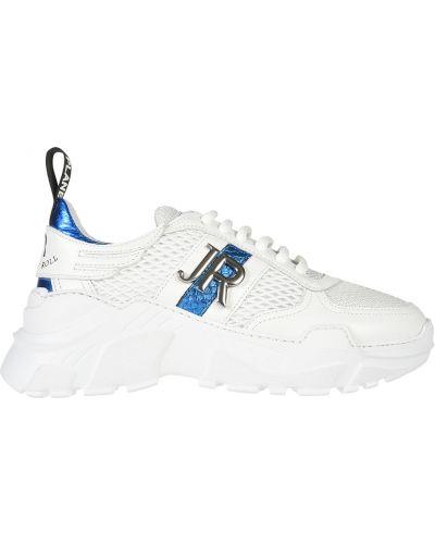Кроссовки на платформе белый John Richmond