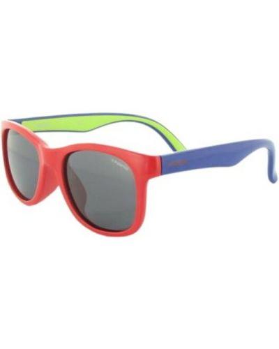 Czerwone okulary Polaroid