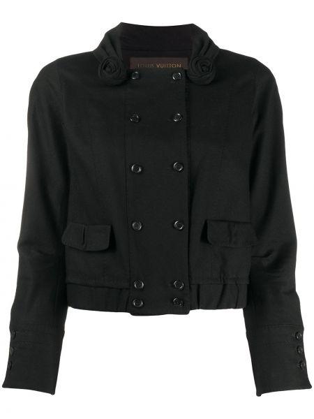 Długa kurtka z kieszeniami zapinana na guziki Louis Vuitton Pre-owned