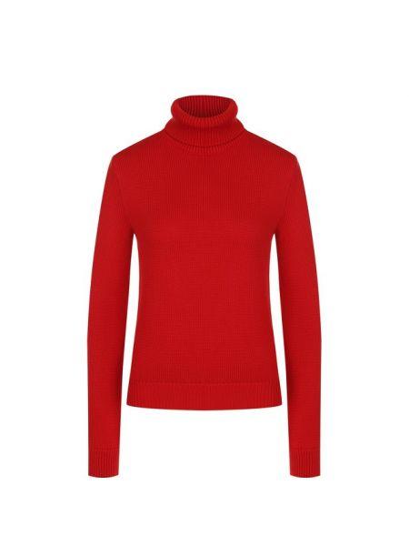 Водолазка вязаная красная Ralph Lauren
