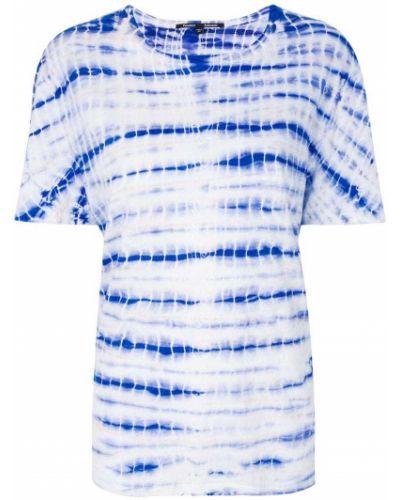 "футболка с узором ""тай-дай"" Proenza Schouler"