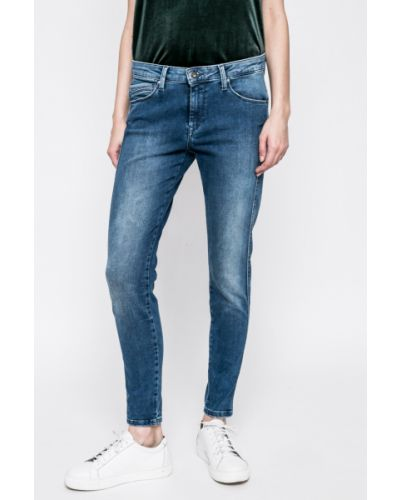 Джинсы-скинни с карманами на пуговицах Pepe Jeans