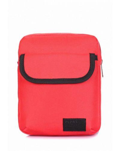 Красная сумка Poolparty