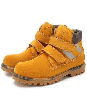 Ботинки замшевые Rondinella