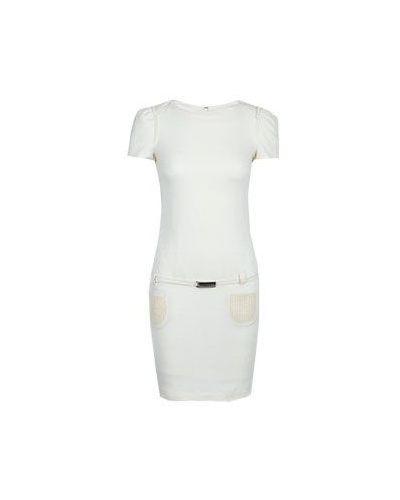 Белое деловое платье Scervino Street