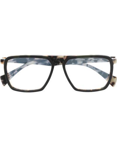 Zielone okulary Yohji Yamamoto