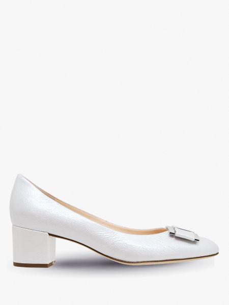 Кожаные туфли - серые Hogl