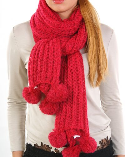 Розовый шарф осенний Passigatti