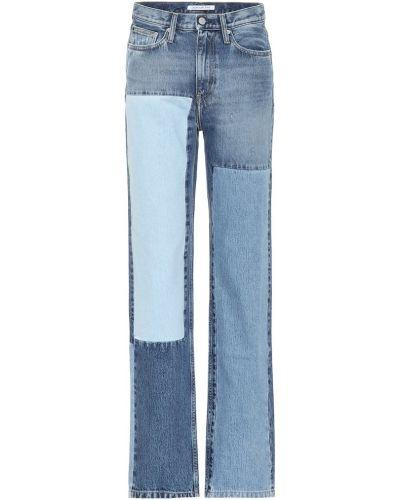 Прямые джинсы классические mom Calvin Klein Jeans