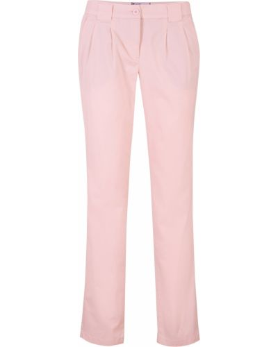 Розовые чиносы с карманами Bonprix