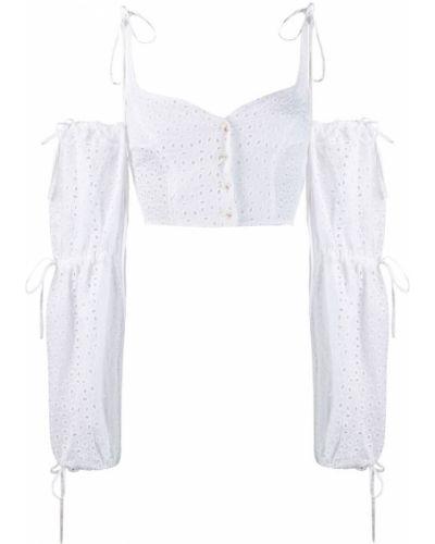 Блузка с вышивкой с манжетами Daizy Shely