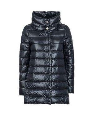 Куртка демисезонная черная Herno