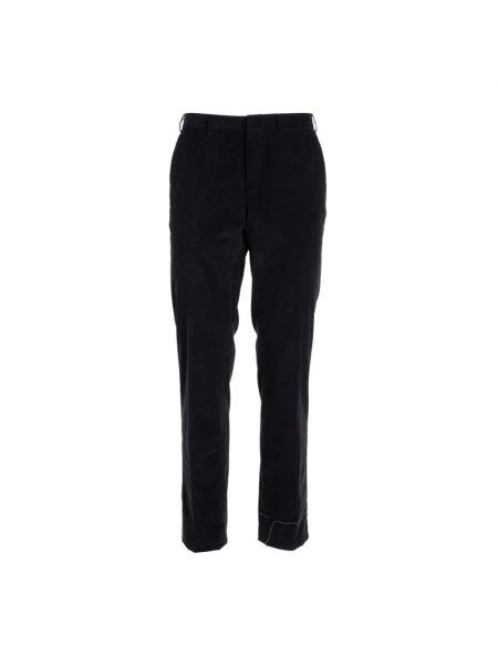 Czarne spodnie Brioni
