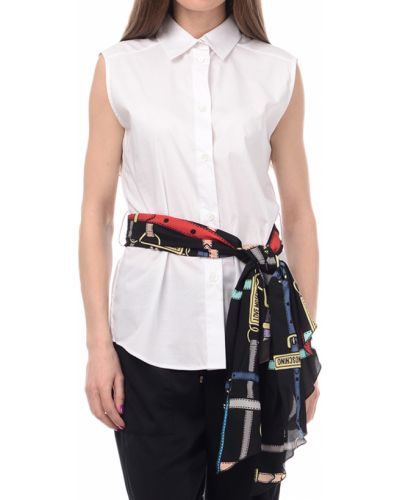 Рубашка белая Love Moschino