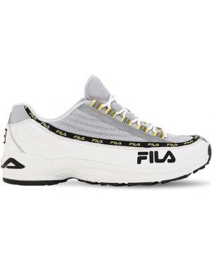 Sneakersy skorzane sznurowane koronkowe Fila Urban