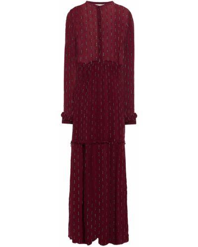 Пляжное платье макси - бордовое Cecilie Copenhagen