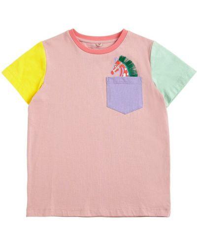 T-shirt z kieszeniami Stella Mccartney Kids