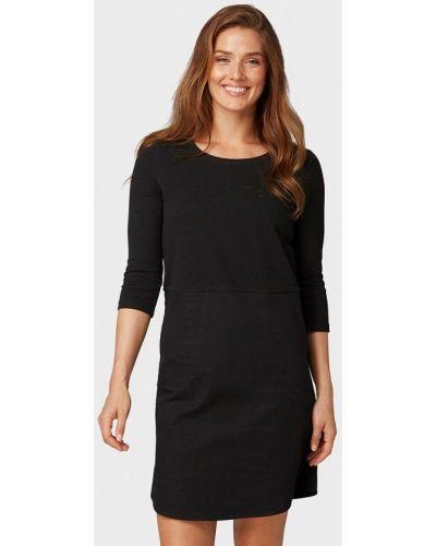 Черное платье прямое Tom Tailor