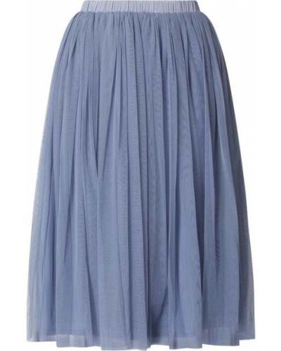 Spódnica rozkloszowana tiulowa - niebieska Lace & Beads